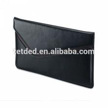 TETDED Premium Leather Case for Apple iPad Mini 3 -- Executive Pouch (Prestige Black/Prestige Dark Brown)