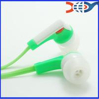 Micro earphone plastic earphone flat cable earphone