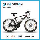 2014 men electric bike good ebike mountain bicycle for sale popular new model TM265T,cheap new model bicicleta eletrica europe