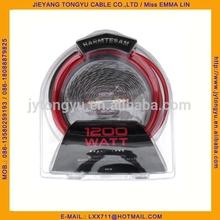 Car Amplifier Wiring Kit AUTO 6GA AMP Wiring kit