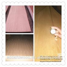 natural red oak teak and black walnut plywood