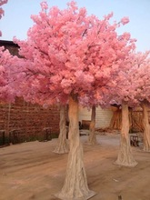 Wedding Decoration Artificial Silk Pink Cherry blossom Tree 2.5M, 4M