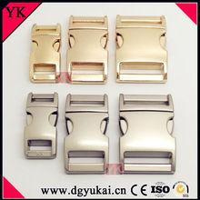 Popular curved buckles for paracord bracelet, metal curved buckles