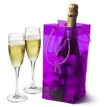 Best Selling!! Factory sale plastic wine bottle cooler bags
