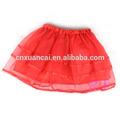 boa qualidade vermelha bonito meninas saia curta para o natal