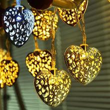 Silver String Fairy Lights Xmas Christmas HNL084