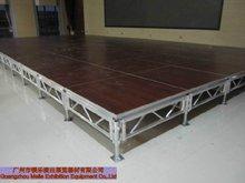 outdoor mobile plywood aluminium frame floor system
