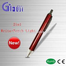 New Customized Logo Plastic Led Pen Light