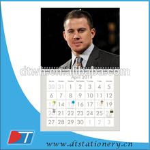 2015 new design cheap wall calendar