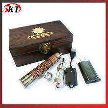 E- el fuego clásico de madera de los cigarrillos electrónicos