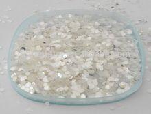 Variety Size Dazzling Silver White Glitter Powder