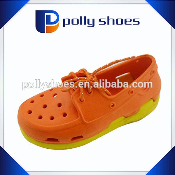 new arrival orange eva shoes quality for kid wholesale