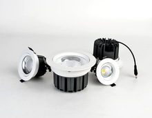 China OEM supplier aluminum housing 7W , 9W,12W,15W 20W 28W 35W led ceiling downlight