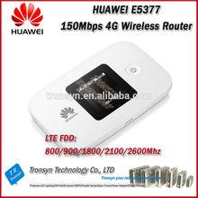 New Arrival Original Unlock LTE FDD 150Mbps HUAWEI E5377 Portable 4G Mobile WiFi Hotspot Support LTE 800/900/1800/2100/2600MHz