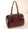 2013 new arrival casual handbag genuine leather purple handbag