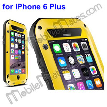 LOVE MEI Waterproof Case for iPhone 6 Plus Metal & Silicone & Gorilla Glass Case for iPhone 6 Plus 5.5 Inch LOVEMEI Cover Case