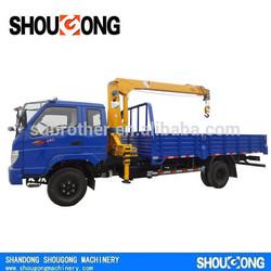 SG 2T small truck mounted crane manufacturer