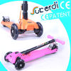 2014 new patent product high quality foldable kids kick scooter portable scooter