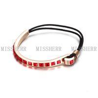 Women elastic bangle bracelet adult birthday gift NSB584STRGRD