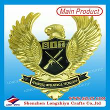 Russia custom metal owl cast ornament