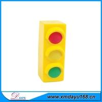 Wholesale PU Foam Stress Toy Traffic Light, Custom PU Foam Toy