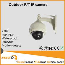 1megapixel p2p infrared cctv camera pan tilt, wifi/wired motion detect camera