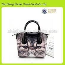 2014 hot sale europe design fashion cat design handbag for ladies