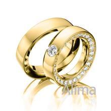 AGR0339# wedding jewelry 18K Yellow Gold 3 Carat Diamond Ring