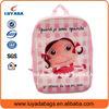 Cute cartoon character custom free design school bag with logo