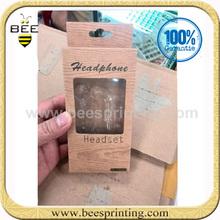 Custom Design Headphone Box with Blister,custom design cardboard boxes ,headphones packaging box