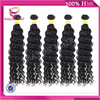 wholesale on line Deep wave 22 24 26 28 30 inches brazilian 5a weave hair