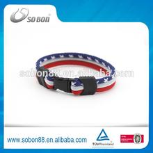 country bangle,promotion2014 flag bracelet,world cup bracelet