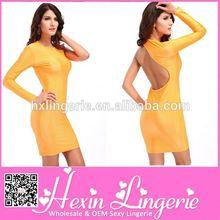 unique design sublimation top quality bodycon dress 2014