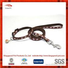 Classic fashion heatfansfer printing dog sex dog slip collar leash