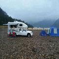 Venda quente!!! Luxo upgrade edition caretta caravana reboque viajar com ce
