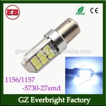 27 pcs smd 5730 led LED Car S25 1156 ba15s/ 1157 BAY15D T20 7440 / 7443 w21/5w car bulb, Car Turn Signal Reverse Tail Lights