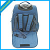2014 Fashion Flag Printing Jacquard Fancy luggage Bag,Lowest Price and High Quality Travel Trolley Bag