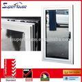 imágenes de aluminio de la ventana y la puerta con el diseño de la parrilla caliente de la venta o el vidrio inteligente diseño