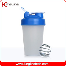 Hote-selling 16oz/400ml custom protein bottle shaker wholesa private label wholesale with blender ball and handle OEM (KL-7011D)