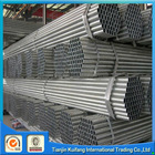 hot dip galvanized pipe size chart