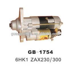 High Quality Excavator Parts 6HK1 ZAX230 ZAX300 Starter Motor