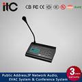 El cci t-6702 pa sistema de tcp ip para micrófono de paginación