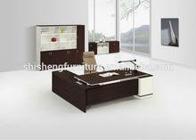 Modern hot sales melamine executive office desk design