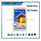 High quality Quad core 7 inch tablet phone call dual SIM card dual standby