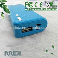 Mobile Power Bank 5000mah External Battery Pack For Cell Phone