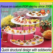 wedding Acrylic cakes Display Stand