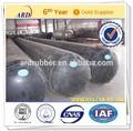 que se utiliza para la fabricación de hormigón de la alcantarilla del globo de goma