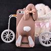 3d cartoon cell phone case, customized cartoon mobile phone case