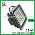 Fabbrica direttamente vendite di ad alta potenza a led per esterni inondazione di luce 50w nero/grigio pressofusione con o senza sensore