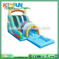 New style latest 2014 big kahuna inflatable water slide